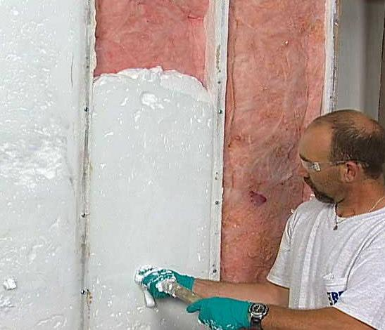Insulation arcos environmental services inc for Alternatives to spray foam insulation